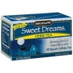 Bigelow Sweet Dreams Herb Tea (6x20 Bag)