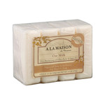A La Maison Bar Soap Oat Milk Value (4 Pack)