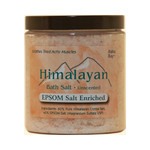 Himalayan Salt Bath Salt 40% Epsom Salt Enriched 24 Oz