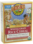 Earth's Best Whole Grain Rice Cereal (3x8 Oz)