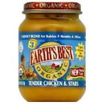 Earth's Best Baby Foods Baby Chicken/Star Sp (12x6OZ )