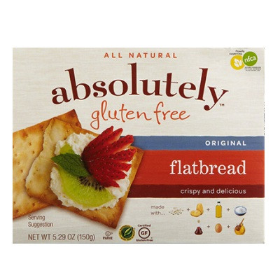 Absolutely Gluten Free Flatbread Original (12x5.29OZ )