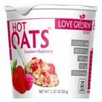 Love Grown Hot Strawberry Raspberry Oats (8x2.22Oz)