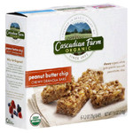 Cascadian Farms Peanut Butter Chip Granola Bar (6x7.4 Oz)