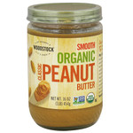 Woodstock Smooth Peanut Butter (12x16 Oz)