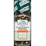 Spice Hunter Black/Wht Pepper Grinder (3x2OZ )
