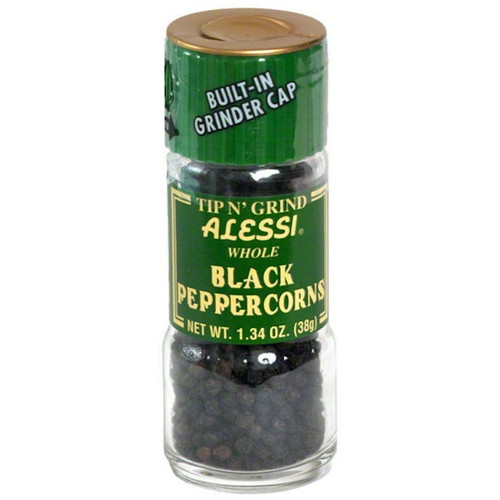 Alessi Black Peppercorn Grinder (6x1.34OZ )