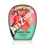 Arizona Green Tea W/Ginseng/Honey, Peach (10x1.9 OZ)