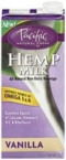 Pacific Natural Vanilla Hemp Milk Non Dairy Beverage (12x32 Oz)