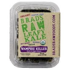 "Brad's Raw Foods ""Vampire Killer"" KaleGarlic & Vegan Cheese Flavor (12x2.5Oz)"