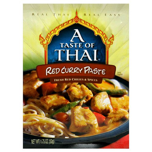 A Taste Of Thai Red Curry Bs (6x1.75OZ )