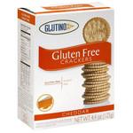 Glutino Cheddar Crackers (6x4.4OZ )
