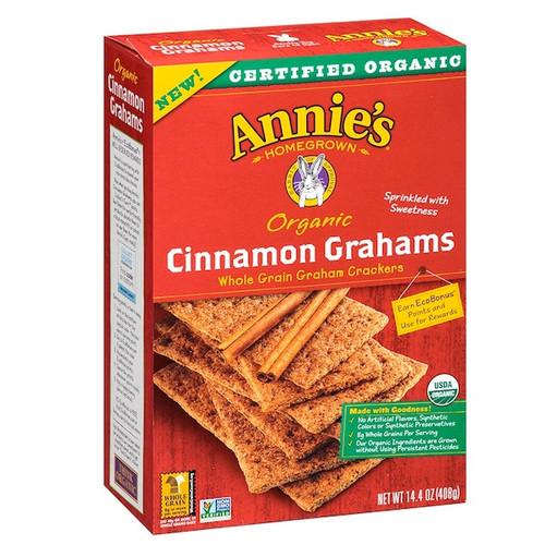 Annie's Homegrown Cinnamon Grah Crakers (12x14.4OZ )