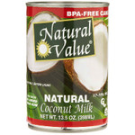 Natural Value Coconut Milk (12x13.5OZ )