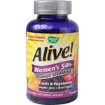 Nature's Way Alive! Women's 50+ Gummy Multi-Vitamins (75 Chewables)
