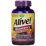 Nature's Way Alive! Women's Energy Gummy Multi-Vitamins (75 Chewables)