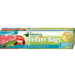 Green-n-Count Zipper Freezer Bags Gallon (1x30 Count)