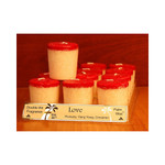 Aloha Bay Votive Candle Love (12x2 Oz)