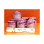 Aloha Bay Votive Candle Night Sky (12x2 Oz)