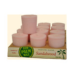 Aloha Bay Votive Candle Sandalwood (12x2 Oz)