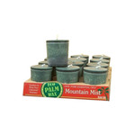 Aloha Bay Votive Eco Palm Wax Candle Mountain Mist (12x2 Oz)