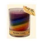 Aloha Bay Votive Jar Candle Unscented Rainbow (12x 2.5 Oz)