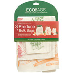 ECOBAGS Market Collection Set of 3 Produce and Bulk Bags (10 Sets of 3 Bags)