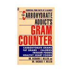 Book Carbohydrate Addicts Gram Counter 1 Book