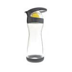 Full Circle Home On the Go Lemon Glass Water Bottle Blackberry