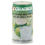 Chaokoh Coconut Juice W/Pulp (24x11.8OZ )