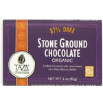 Taza Chocolate Dark Chocolate, 87% Cacao (10x3 OZ)