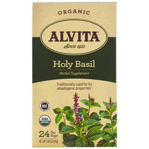 Alvita Tea Organic Holy Basil Herbal (1x24 Bags)