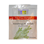 Aura Cacia Aromatherapy Mineral Bath Tea Tree Harvest (6x2.5 Oz)
