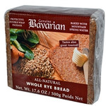 Bavarian Organic Whole Rye Bread (6x17.6Oz)