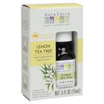 Aura Cacia Essential Oil Pure Lemon Tea Tree .5 fl Oz