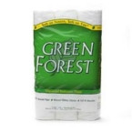 Green Forest Double Roll Bath Tissue 2ply (4x12 PK)