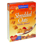 Barbara's Vanilla Almond Shredded Oats (6X14Oz)