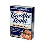 Breathe Right Drug Free Snoring and Congestion Nasal Strips Small Med Original Tan (1x30 Strips)