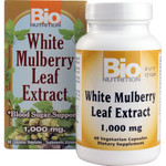 Bio Nutrition Inc White MuLberry Leaf Extract 1000 mg (1x60 Veg Capsules)