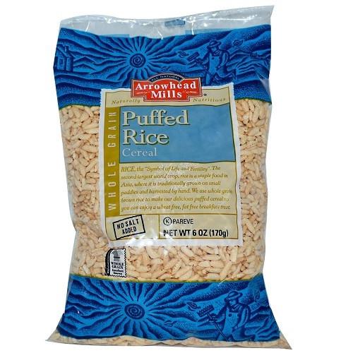 Arrowhead Mills Puffed Brown Rice Cereal (3x6 Oz)