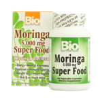 Bio Nutrition Moringa 5,000 mg Super Food (1x60 Veg Capsules)