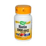 Nature's Way Biotin 1000 mcg (1x100 Lozenges)
