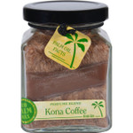 Aloha Bay Candle Cube Jar Perfume Blends Kona Coffee 6 oz