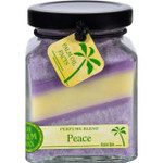 Aloha Bay Candle Cube Jar Perfume Blends Peace 6 oz
