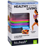 Fit and Fresh Containers Healthy Living Smart Portion 2 Cup Size 10 Pieces