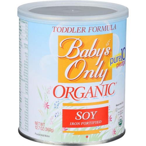 Baby's Only Organic Toddler Formula Soy 12.7 oz