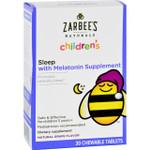 Zarbee's Childrens Sleep Grape Flavor 30 Chewables