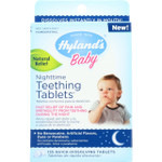 Hylands Homeopathic Teething Tablets Nighttime Quick Dissolving 135 tablets 1 each