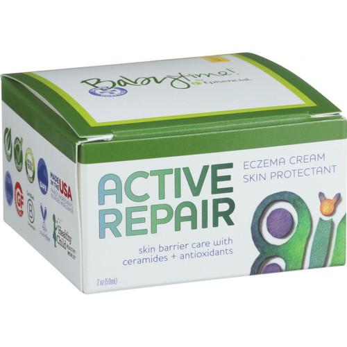 Babytime By Episencial Active Repair Eczema Cream Skin Protectant 2 oz