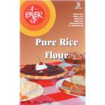 Ener G Foods Flour White Rice 20 oz case of 12